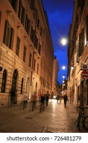 Streets of Rome at Dusk