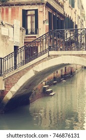 The streets of Venice. Italy