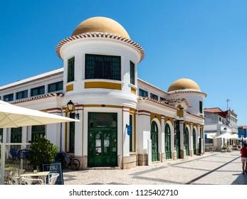 In the streets of Vila Real De Santo Antonio, Algarve, Portugal