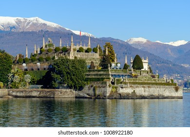 Stresa, Lake Maggiore, Italy. Lakeside views series