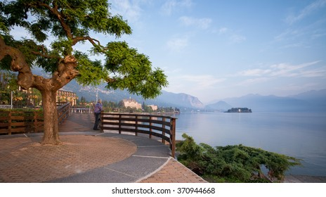 Stresa, Lake Maggiore looking at Isola Bella
