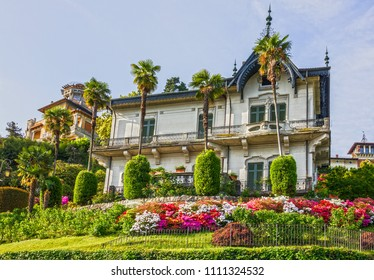 Stresa town house, Italy, Lombardy, Maggiore lake