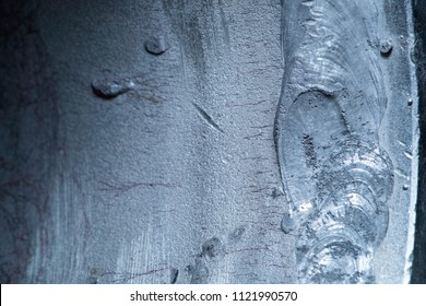 Stress corrosion cracking at the internal surface of stainless steel pipe which were appeared as multiple dark lines.