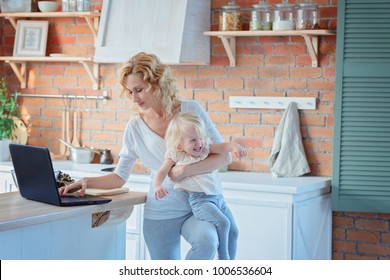 Stress of a working mother / Mum combines work and education of children