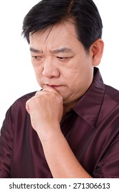 stressful man thinking