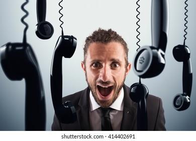 Stressful phone calls