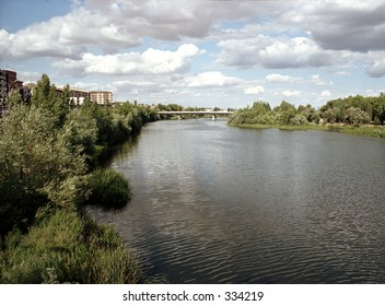 stretch of river