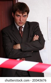 the strict employee of office