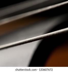 String of violin