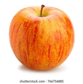 striped apples path isolated