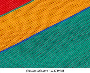 striped color plastic texture