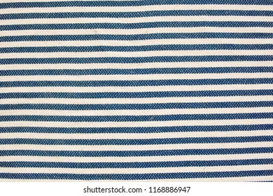 Striped fabric, blue textureStriped fabric, blue texture