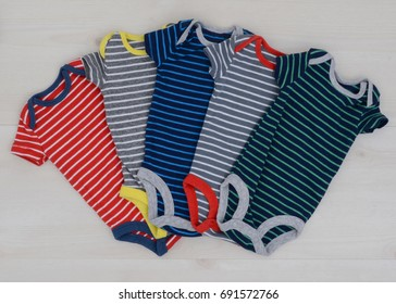 Striped Onesies 2