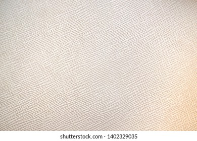 striped of soft brown fabric texture and background