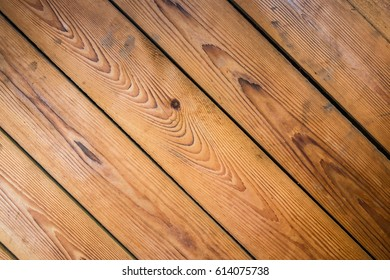 Striped texture of the planks of wood