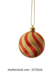 Stripy Christmas ball