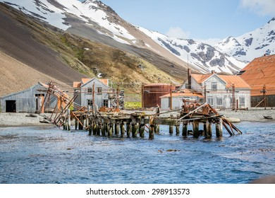 Stromness Harbor, home of Shackleton's rescue