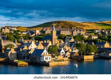 Stromness a village in the Orkney islands - Shutterstock ID 1414906874