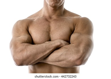 Strong with arms crossed