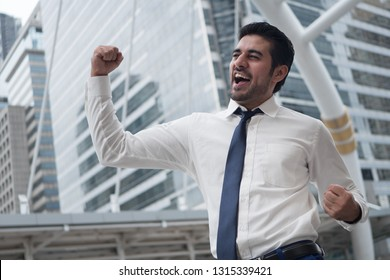strong asian business man; portrait of Asian, north indian successful, happy, confident businessman, office worker, business executive, boss, manager