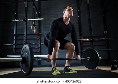 Strong athlete