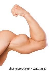 strong man arm