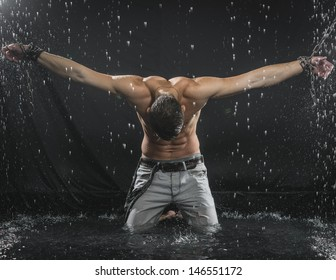 Image result for free images of a man or woman chained
