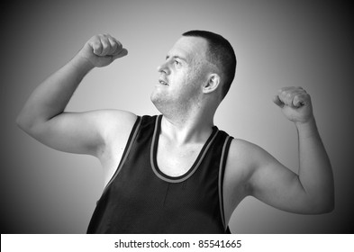 strong man with down syndrome
