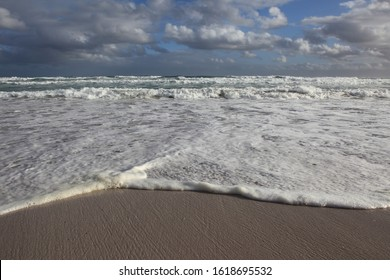 strong undertow on Platboom beach, Cape Point, South Africa, Atlantic Ocean