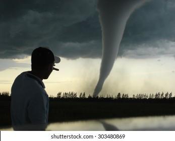 Strongest tornado in Canada vs. me