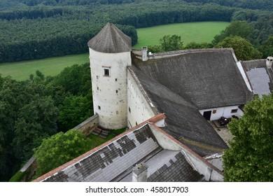 stronghold Buchlov in Czech republic
