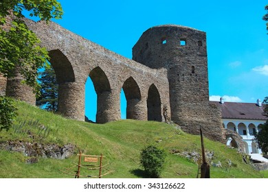 stronghold Velhartice, Czech republic, Europe
