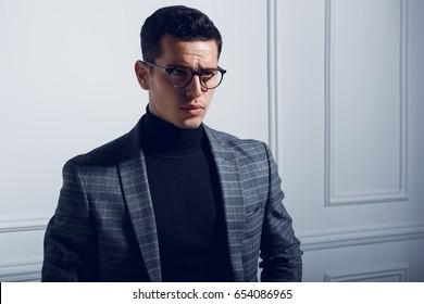 Turtleneck Suit Images Stock Photos Vectors Shutterstock