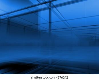 Structural deep violett blue background.