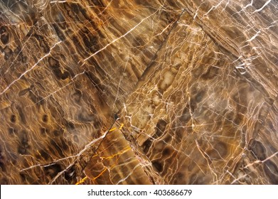 The structure of the brown marble, background, texture