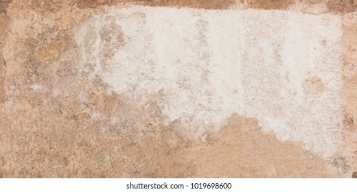 Structure of a cracked rusty stone background