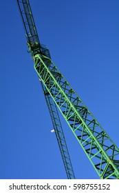 Structure of a crane.