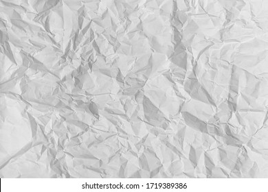 structure of crumpled paper black and white