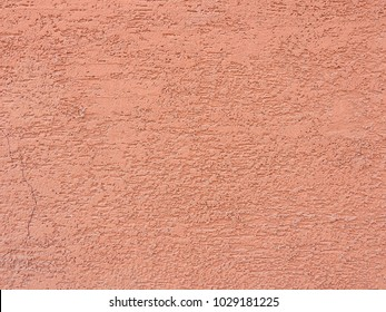 Structure of decorative terracotta plaster. Abstract background.