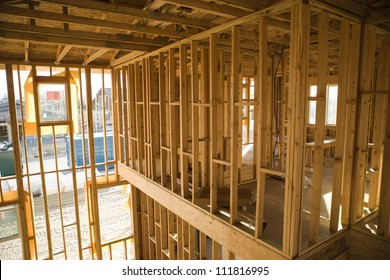 Structure of a house under construction