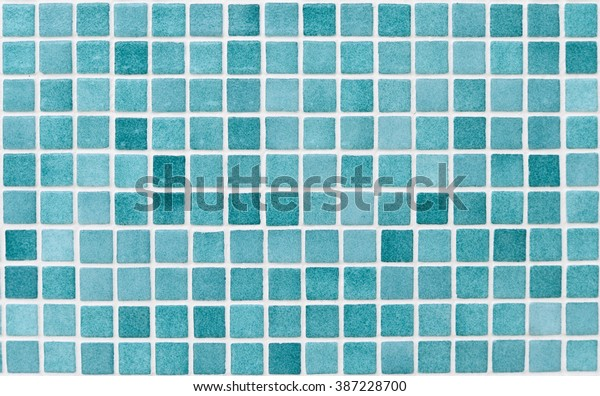 Structure Mosaic Swimming Pools Green White Stock Photo ...