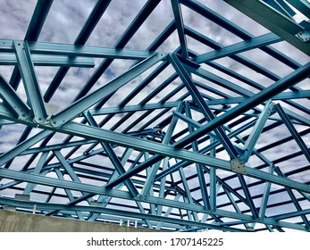 Structure of roof frame galvanized