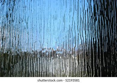 structured window glass