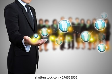 Structures connection of society, Social network