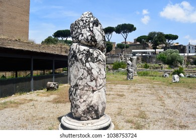 Structures within the Roman Forum, Rome