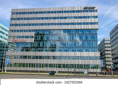 Stryker And TMF Group Building At Amsterdam The Netherlands 2019