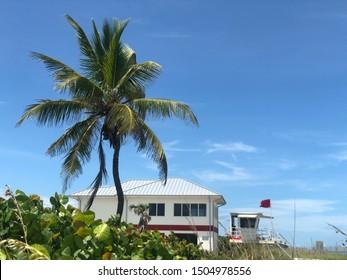 Stuart beach in Florida United States