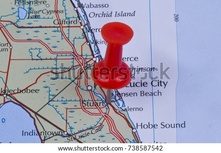Map Of Stuart Florida.Stuart Florida Martin County United States Stock Photo Edit Now