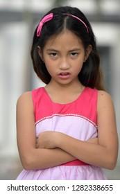 Stubborn Filipina Girl Youth
