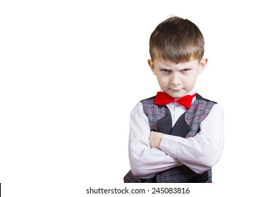 Angry Kid Arms Crossed Stock Photos, Images & Photography | Shutterstock